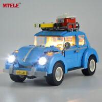 LED Light Kit For Lego Creator 10252 Volkswagen Beetle Lighting Set 10252 blocks