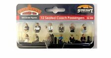 Scenecraft By Bachmann. 36-408. Seated Coach Passengers. OO Gauge.