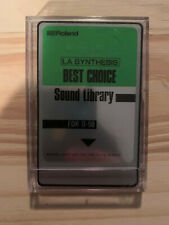 Roland LA Synthesis Best Choice Sound Library - ROM card for D-50