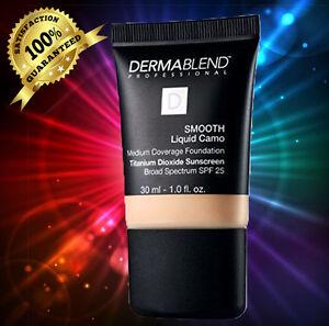 Dermablend Smooth Liquid Camo Foundation - CREAM  NEW IN BOX 30ML/1 OZ.