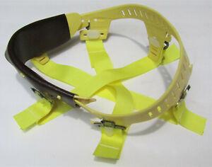 BULLARD 502 fiberglass or aluminum HARD HAT SUSPENSION LINER CLEAN & NICE