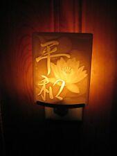 The Porcelain Garden 'Lotus Blossom' Night Light - Beautiful Cream Ceramic Style