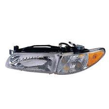 97-03 Grand Prix Headlight Headlamp w/Bulb Head Light Lamp Left Driver Side DOT