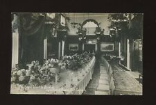 Glos Gloucestershire BRISTOL KE7 1908 Art Gallery Luncheon Room Table RP PPC