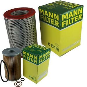 Mann-filter Set Mercedes-Benz /8 Coupe W114 250 Ce Pagode W113 230 Sl 280 W111