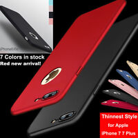 iPhone X 8 7 Plus XS Case Luxury Ultra-thin Slim Silicone Soft TPU Rubber Cover