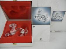 Swarovski Figura Del Año 1997 el Dragón con Embalaje Original (mi Artículo N º