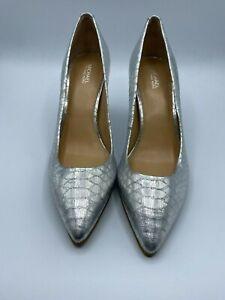 Michael Kors Silver women's Pump Heel Size 9M