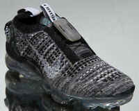 Nike Air Vapormax 2020 Flyknit GS Older Kids' Black White Lifestyle Sneakers