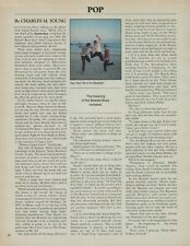 1987 The Meaning Of the Beastie Boys Group Vintage Photo Article Clipping Print