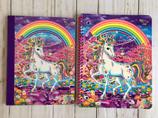 Lisa Frank Unicorn Wide Ruled Spiral + Composition Journal Notebook