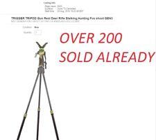 Trépied Trigger Stick Gun Rest Deer Rifle traque, CHASSE Fox Shoot GEN3 Pri