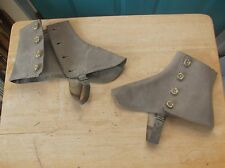World War II Navy Uniform Spats or Boot Covers