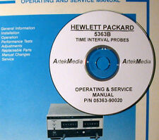 HP 5363B Time Interval Probes Ops & Service Manual