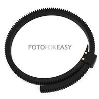 FOTGA DP500IIS Adjustable Flexible Follow Focus Gear Driven Belt Ring DSLR Lens