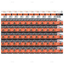 100 NEW LR41 MAXELL AG3 392A 192 SR41 LR736 CX41 392 BATTERY