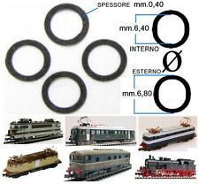 SET N.4 ANELLI DI TRAZIONE-ADERENZA 422 mm.6,80 Esterno-mm.6,40 Interno SCALA-N
