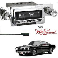 RetroSound 64-66 Ford Mustang Laguna-C Radio/3.5mm AUX-In for ipod/Push Button