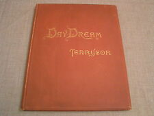 The Day Dream 1888 Alfred Lord Tennyson Large Illustrated Antique Victorian Book