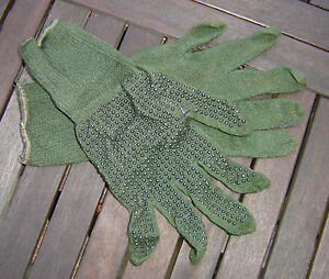 NEW & USED G1 BRITISH ARMY SURPLUS ISSUE ARAMID COMBAT CONTACT GRIPPER GLOVES