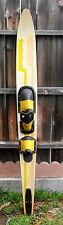 New listing O'Brien Vip Slalom Water Ski 170Cm With Bindings Size Xl Concave Bottom