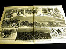 Gettysburg Battle Field BIRNEY 3rd CORPS TAYLOR & CHAPMAN GRAVES 1882 Lg Print