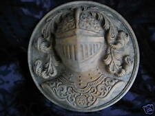Coat of Arms Knights wall art stone sculpture home decorative ornament relief