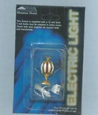 Miniature Dollhouse Table Lamp /King Arthur Bead 811