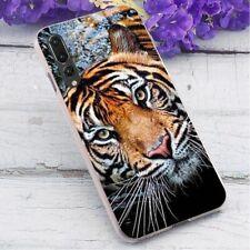 Tiger Mobile Phone Case for Xiaomi Mi 8 Lite Cover A1 A2 A3 5X 6X 2S 9T Pro H834