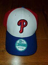 Mens NEW ERA 9FORTY PHILLIES Perforated Block MLB Adjustable Baseball Hat Cap