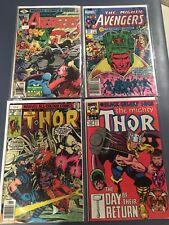 Vintage Avengers Books# 188,#243&Thor comic books #260,#423+ Iron Man all(Fn/Vf)