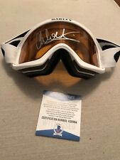 Autographed Chloe Kim official Oakley goggles Becket Winter Olympic snowboard