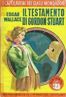 Testamento di gordon stuart - Wallace - i capolavori dei gialli mondadori 117