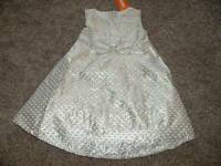 Gymboree Best In Blue Silver Dress Formal Size 4T 5T 4 5 Toddler NWT NEW Girls