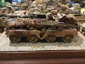 WWII Wehrmacht Sd.Kfz. sehr detailreich gebaut 1:35
