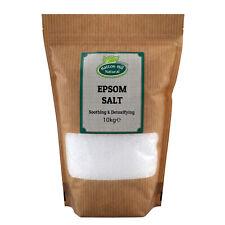 Epsom Salt   Magnesium Sulphate   BP Grade   Bath Health Garden Beauty   10kg
