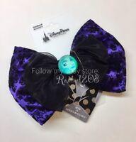 Disney Haunted Mansion Leota Interchangeable Minnie Swap Your Bow Ears Headband