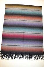 Paul Smith Mens Huge Rainbow Stripe Cashmere Scarf BNWT