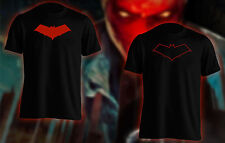 Red Hood t shirt Cosplay Comicon Comic Con solid graphic / outline graphic logo