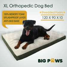 Big Memory Foam Dog Pet Bed Mat Orthopedic Extra Large Waterproof