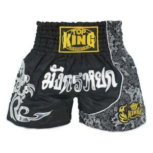 Muay Thai Fight Shorts for Kids Men Elastic Waist Kickboxing MMA training Shorts