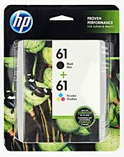 *Genuine HP 61 Combo Pack Black & Tri Color Ink Cartridge Exp 12/2020