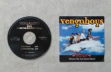 "CD AUDIO MUSIQUE / VENGABOYS ""KISS (WHEN THE SUN DON'T SHINE)"" 2000 CD SINGLE 2T"