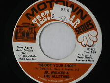 45 RPM vinyl record CLEANED & PLAYS VG+ JR WALTERS ALLSTARS Shoot Your Shot