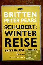 Britten - Schubert, Winterreise/ Britten, Folk Songs  - DVD, As New
