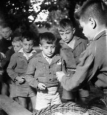 LIMOURS c. 1950 - École Garçons  - Négatif 6 x 6 - N6 IDF5