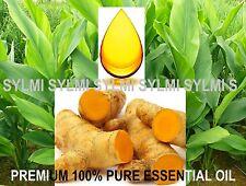 15 ml ORGANIC PURE TURMERIC ESSENTIAL OIL Cold-Pressed RAW Curcuma longa 1/2 oz