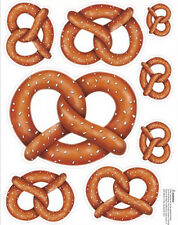 SOFT PRETZELS wall stickers 8 decals concession stand sign kitchen room decor