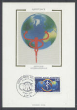 FRANCE FDC - 2535 5 ASSISTANCE MEDICALE INTERNATIONALE - 28 Mai 1988 - LUXE soie