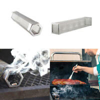 Pellet Smoker Tube Stainless Steel BBQ Pipe Outdoor Mesh Grill Smoke Generator H